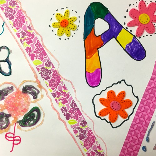 Kids' April Art 3