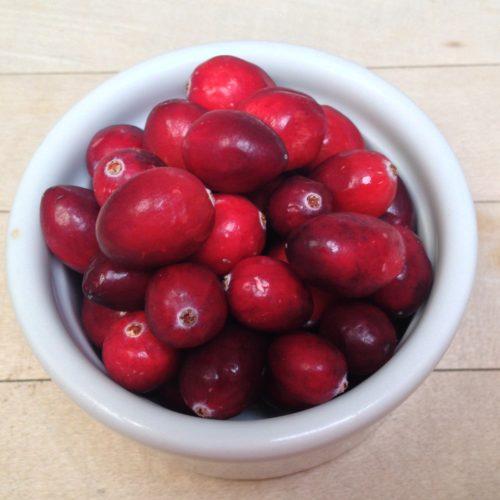 Cranberries ~ arándanos agrios