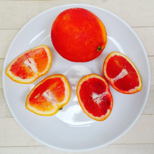 Blood Oranges ~ Naranja sanguina