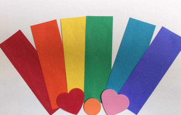 Paper Rainbow Arco iris de papel