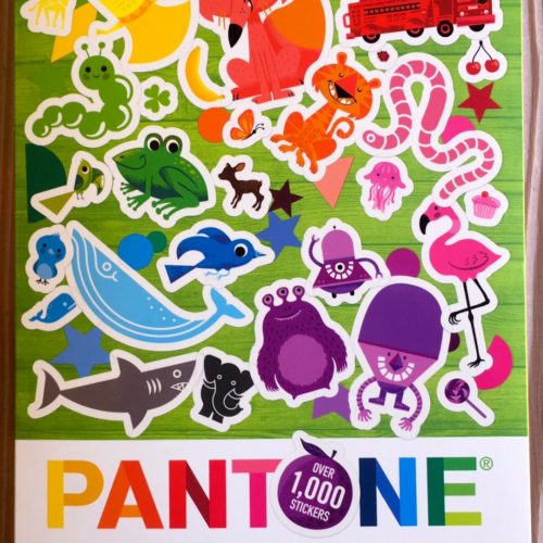 Pantone Stickers Book