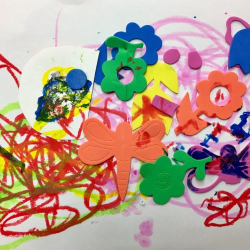 Toddler Art Arte por ninita