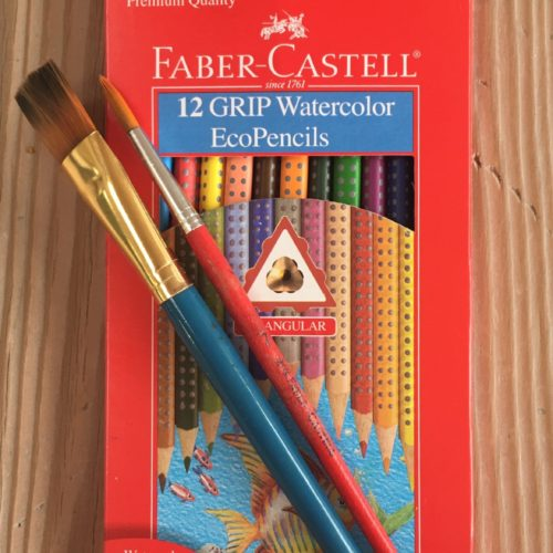 Colored Pencils Lapices de colores