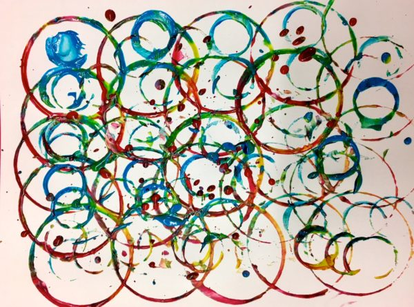 Child's Rings Painting