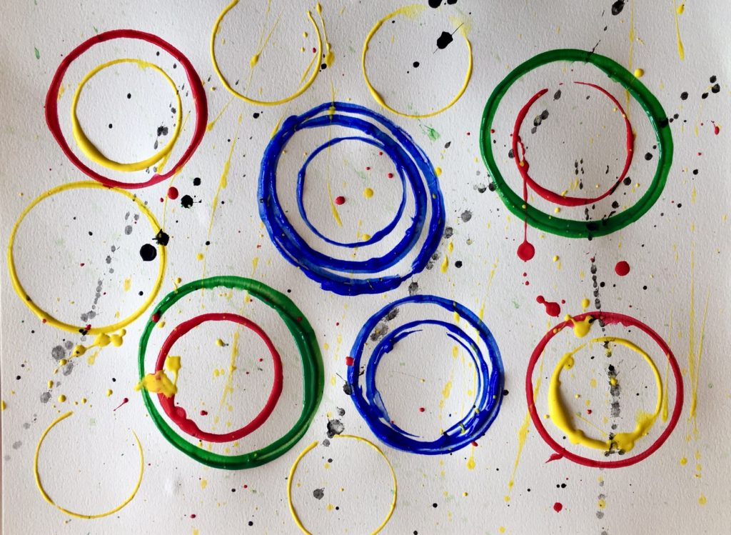 Olympic Rings Gone Wild