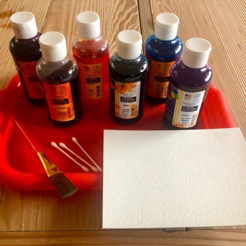 Liquid Watercolor ~ Acuarelas liquidos